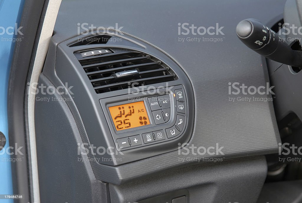 car aircondition royalty-free stock photo