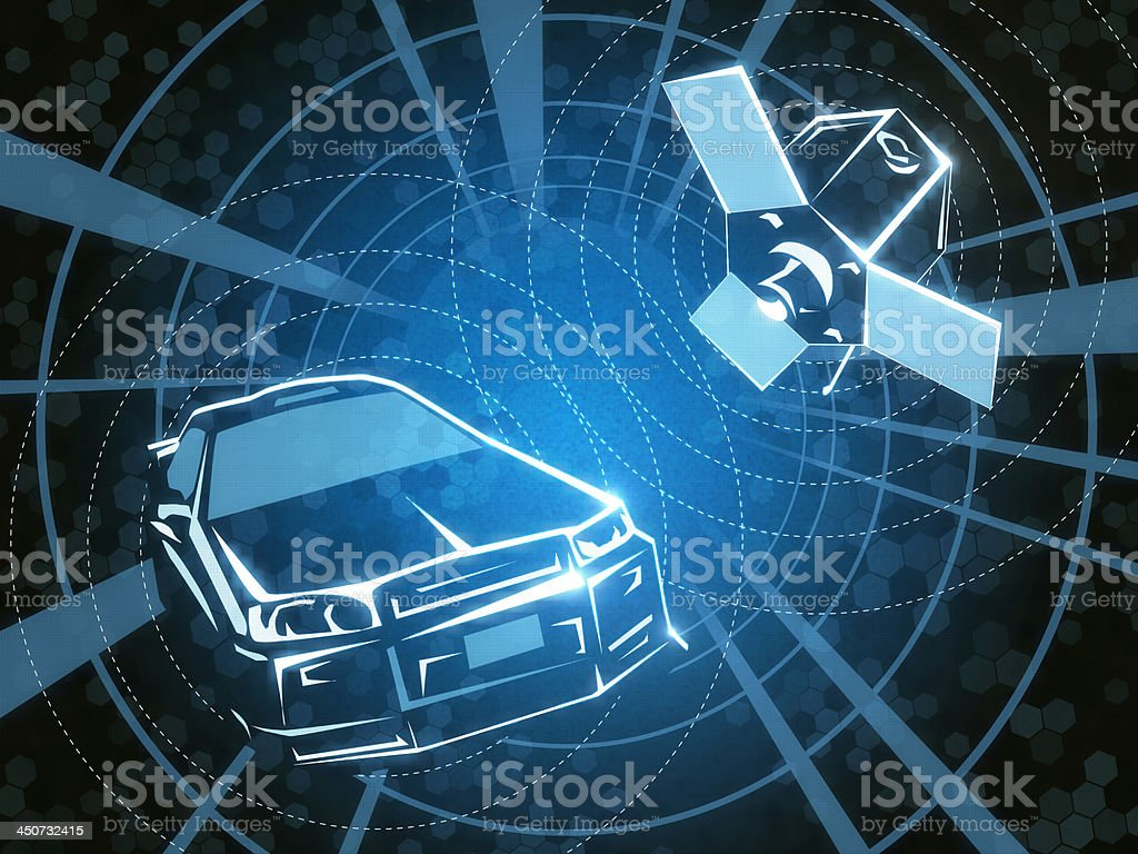 Car Alarm royalty-free stock photo