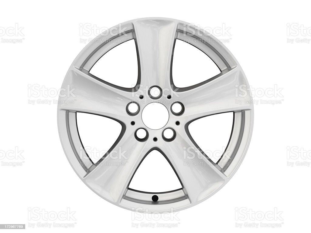 Car Alloy Wheel (XL) royalty-free stock photo
