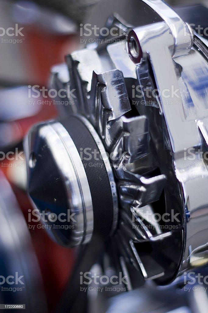Car Alternator. stock photo