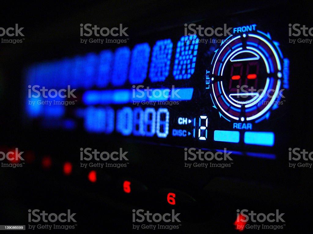 Car Audio stock photo