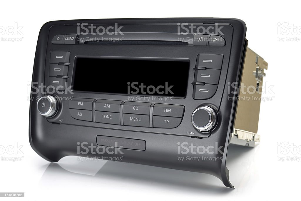 car audio royalty-free stock photo