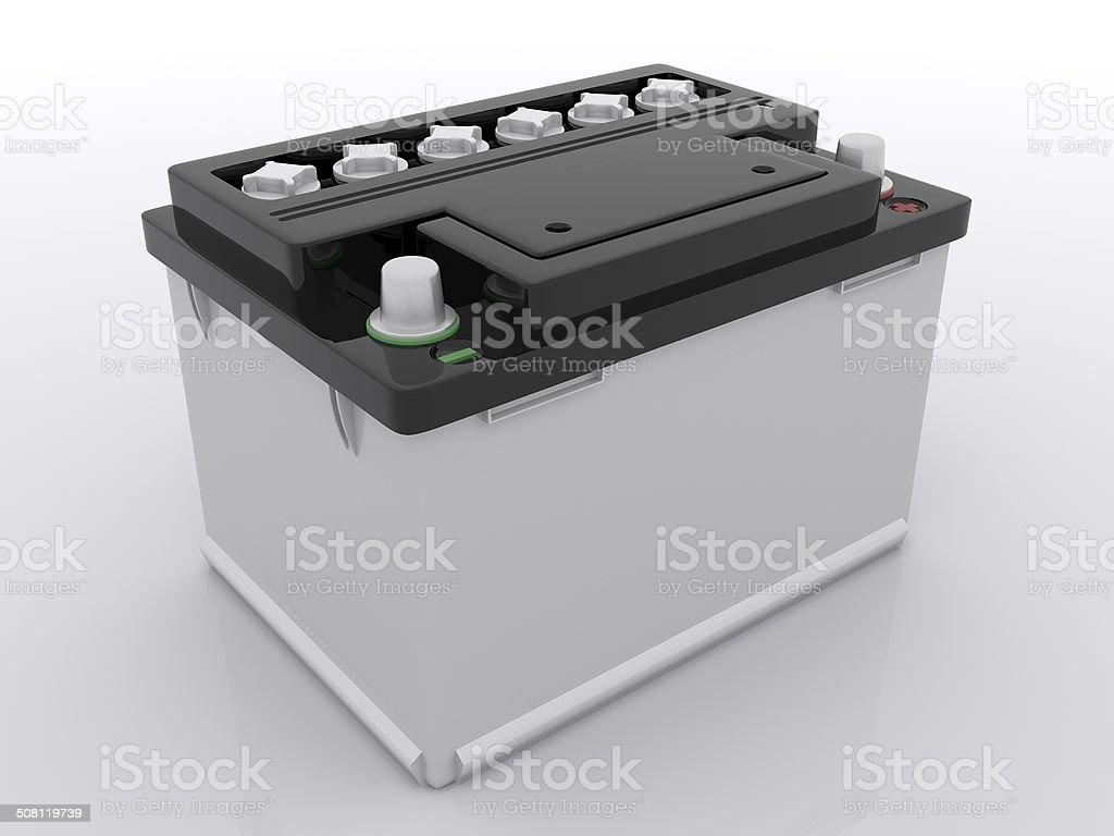 car battery stock photo