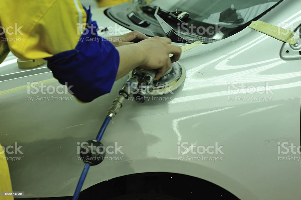 car body work royalty-free stock photo
