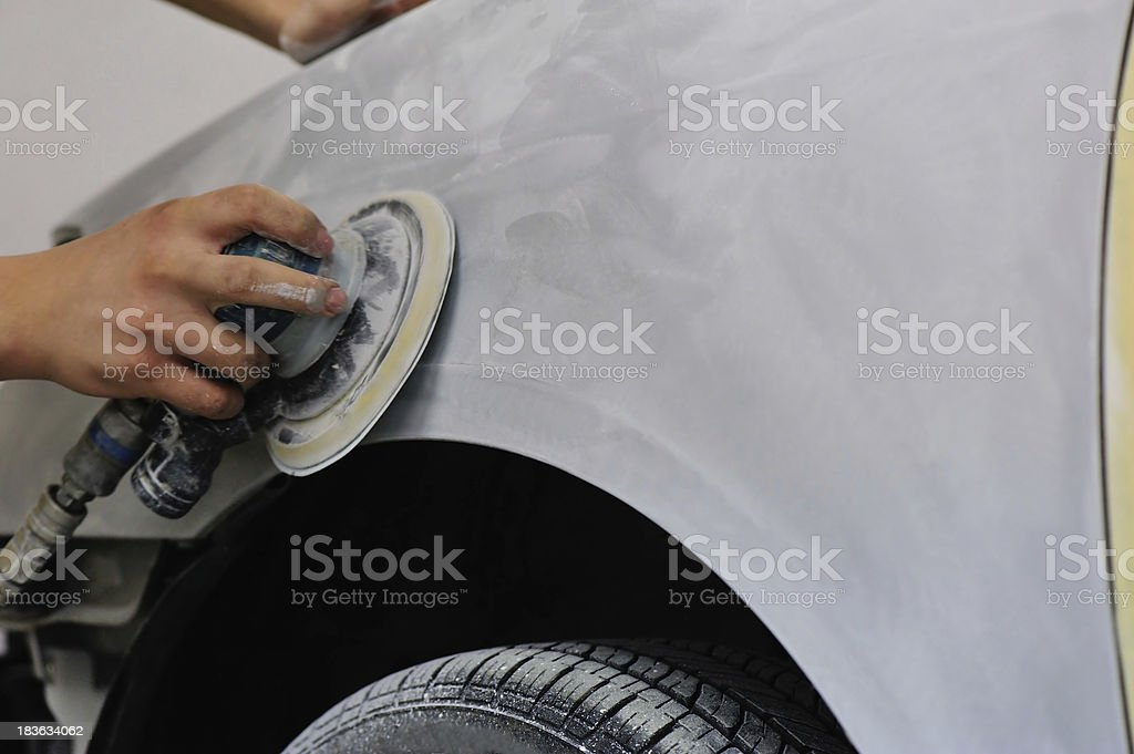 car body work royalty-free stock photo