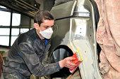 Car body worker.