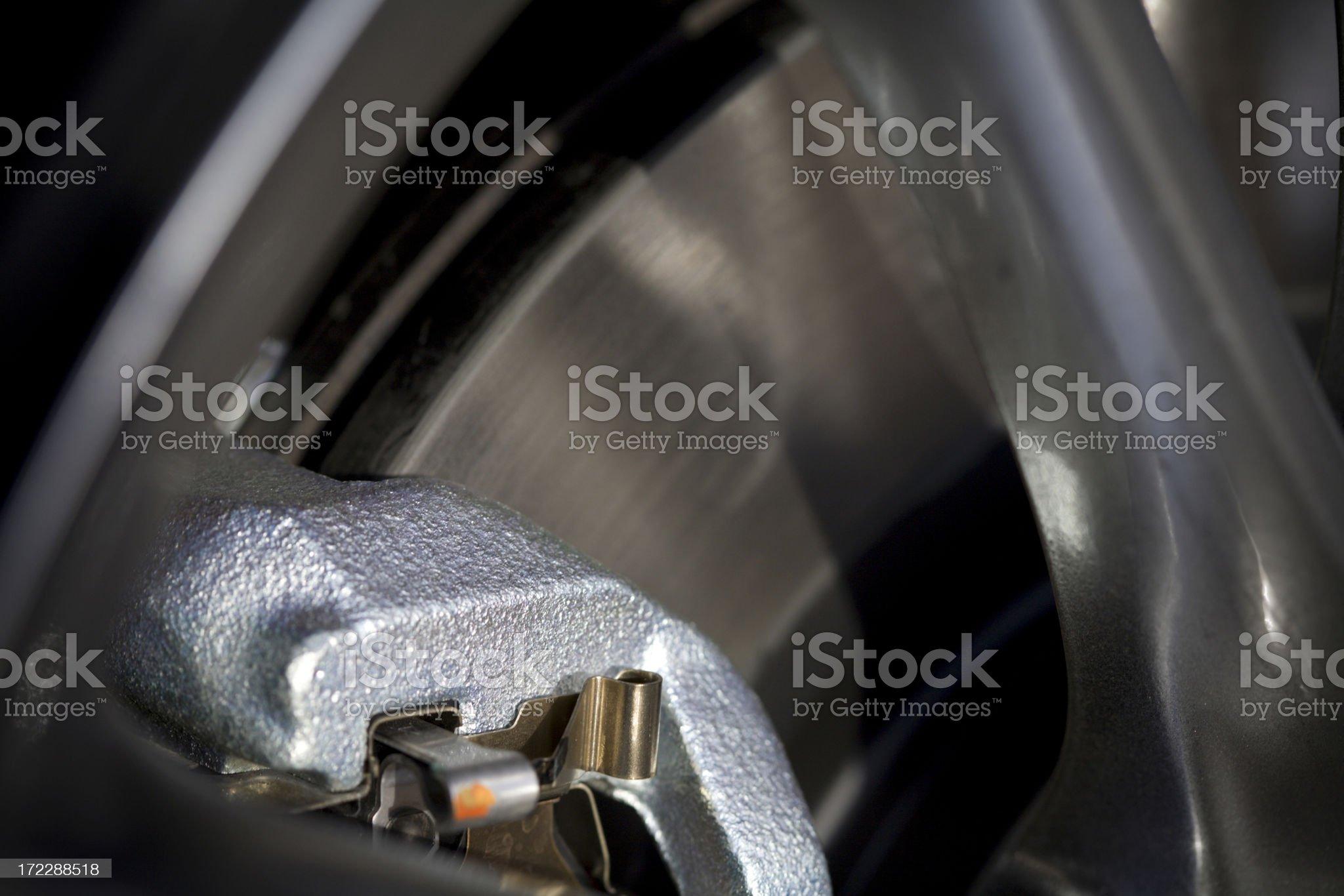 Car Brake royalty-free stock photo
