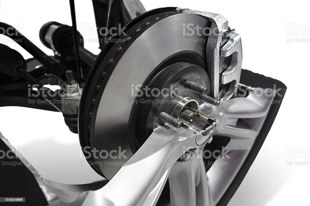 Car Brake Rotor royalty-free stock photo