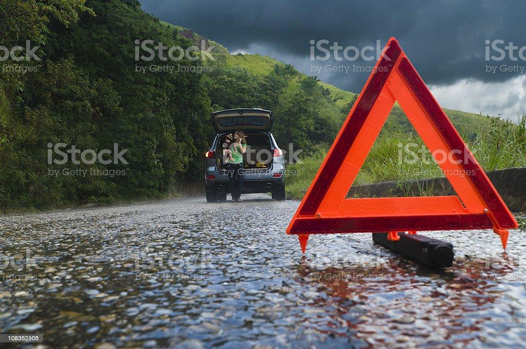 Car Breakdown royalty-free stock photo