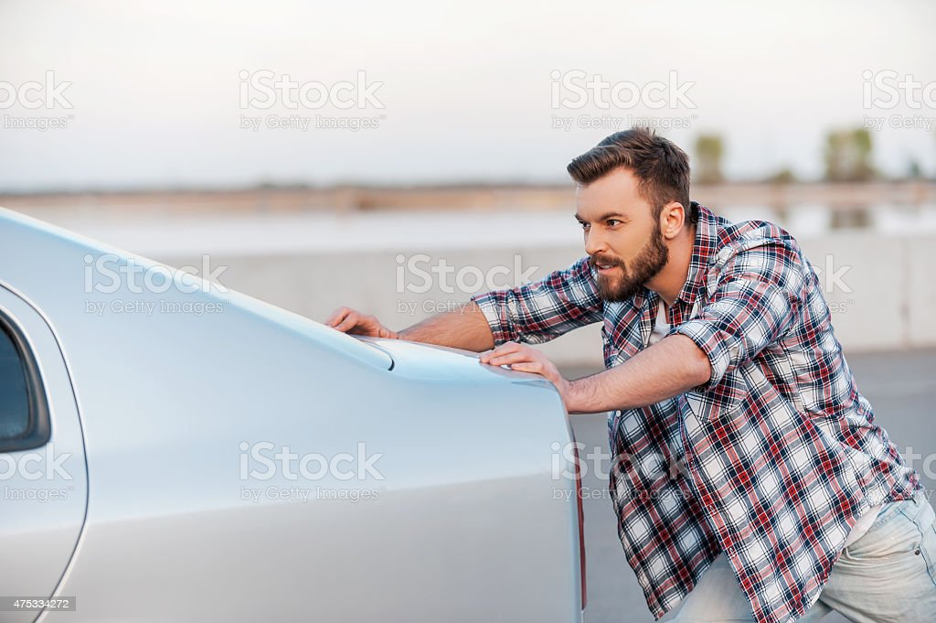 Car breakdown. stock photo