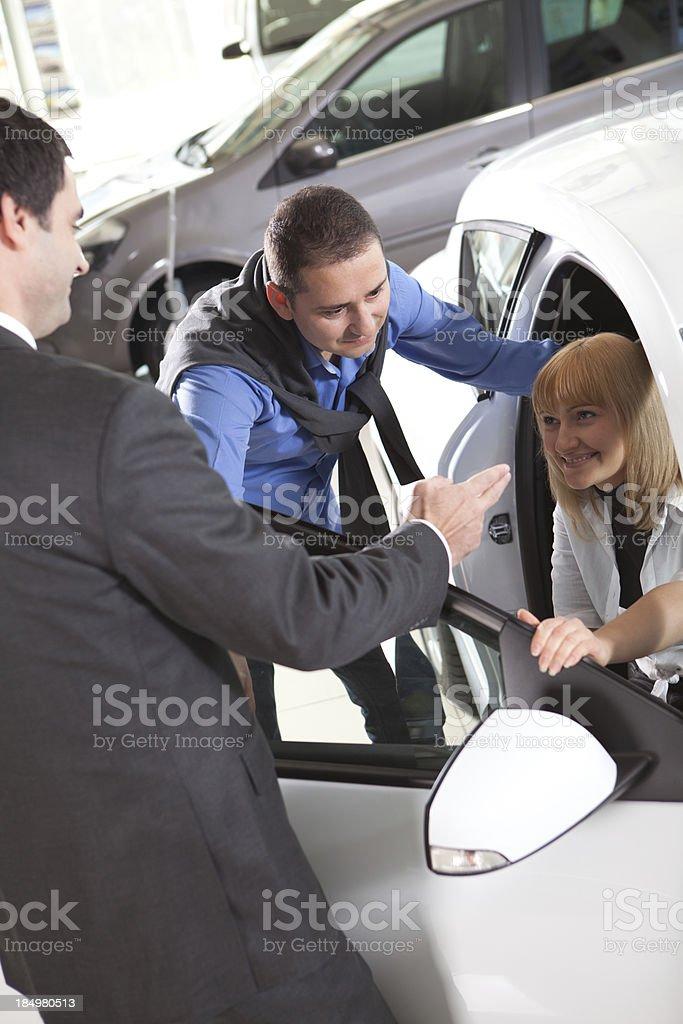 Car Buying royalty-free stock photo