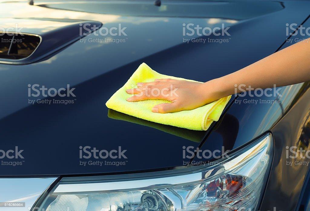 Car care concept stock photo