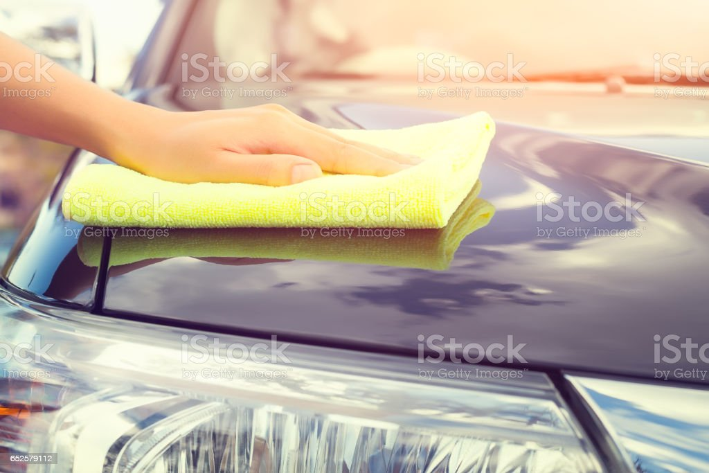 Car care concept stock photo