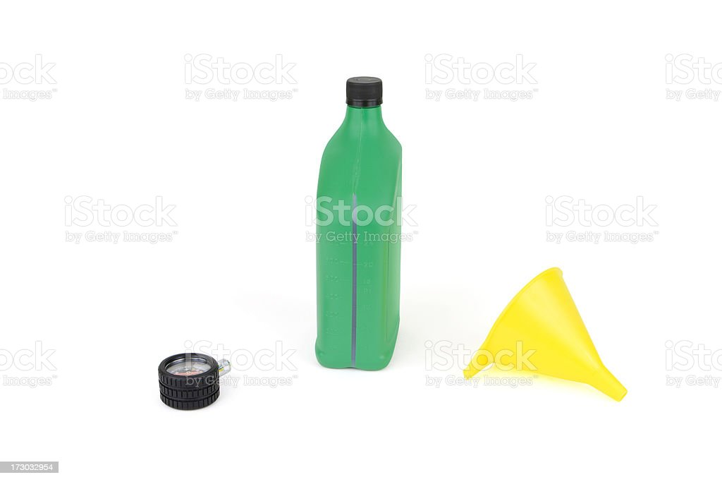 Car Care Items royalty-free stock photo