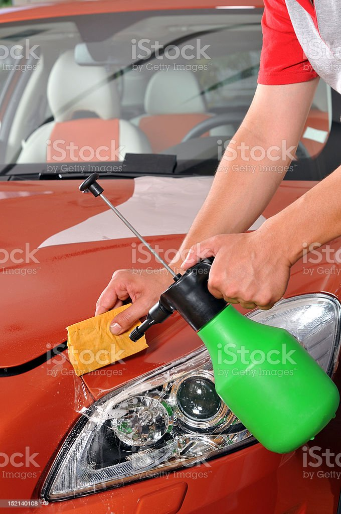 Car care royalty-free stock photo