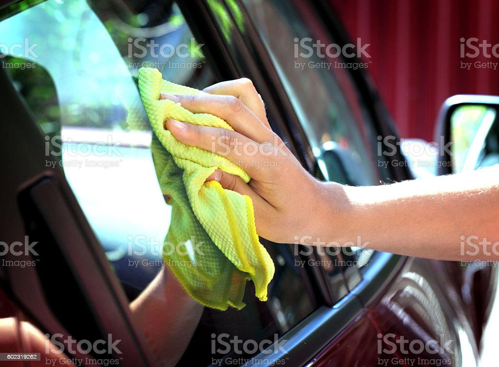 Car Care stock photo