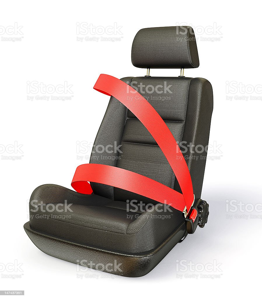 car chair stock photo