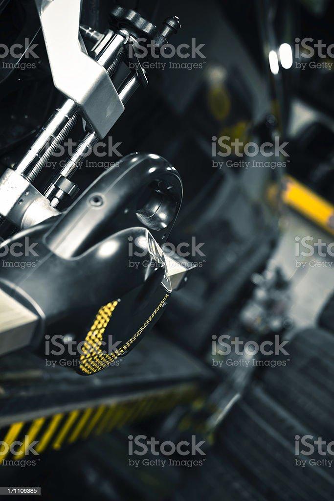 car checking stock photo