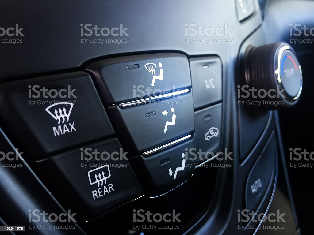 Car Climate System stock photo