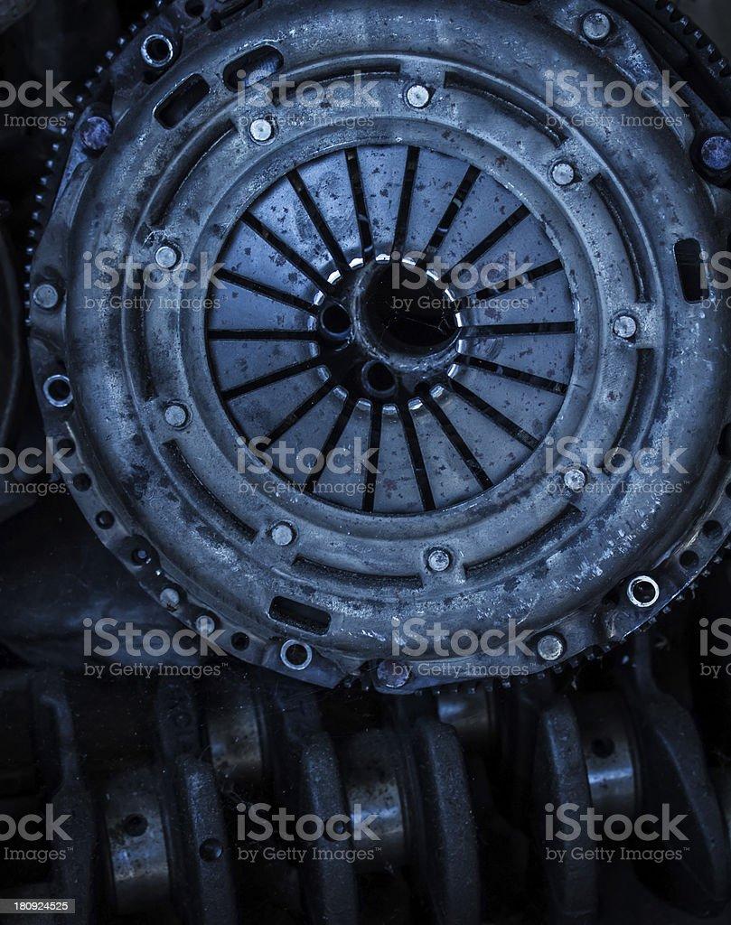 Car clutch disk stock photo