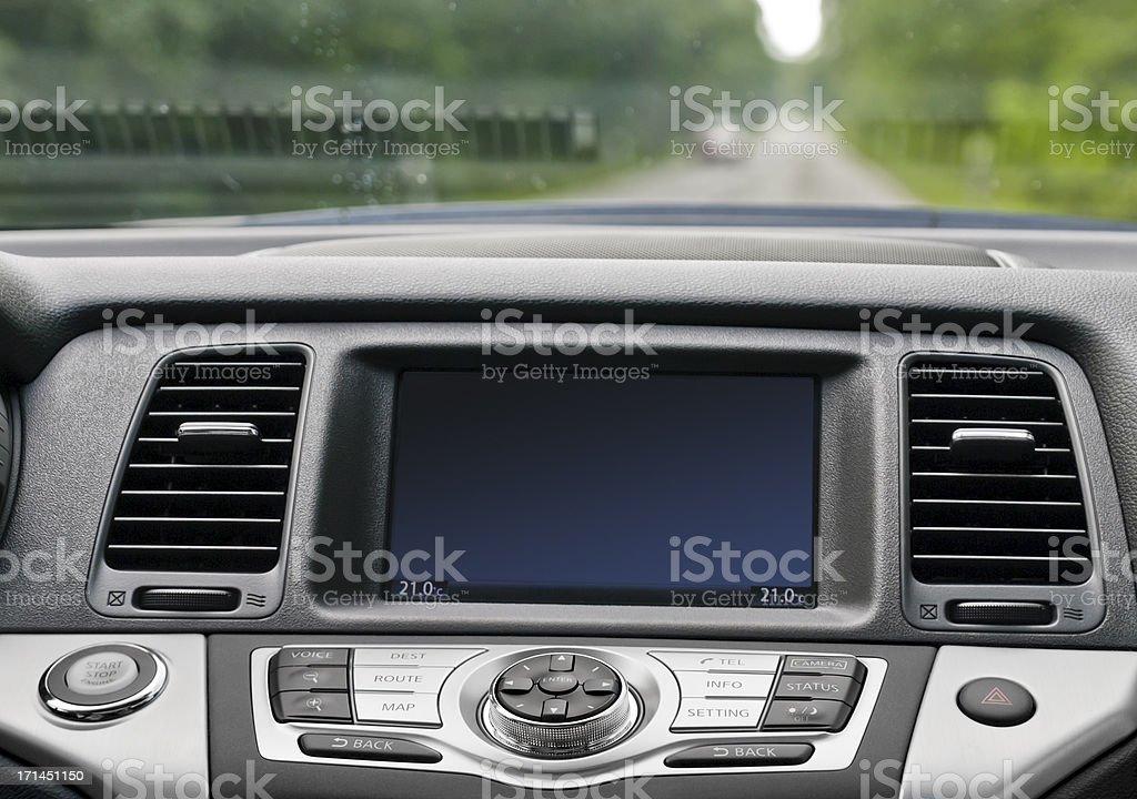 Car cockpit royalty-free stock photo