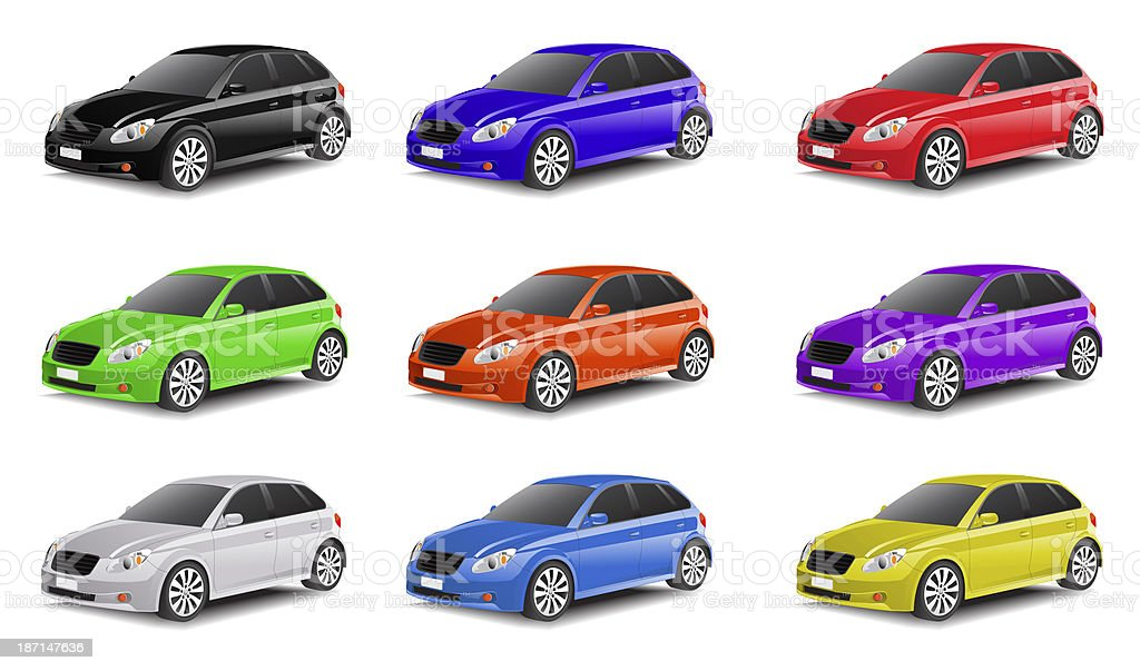Car Collection royalty-free stock photo