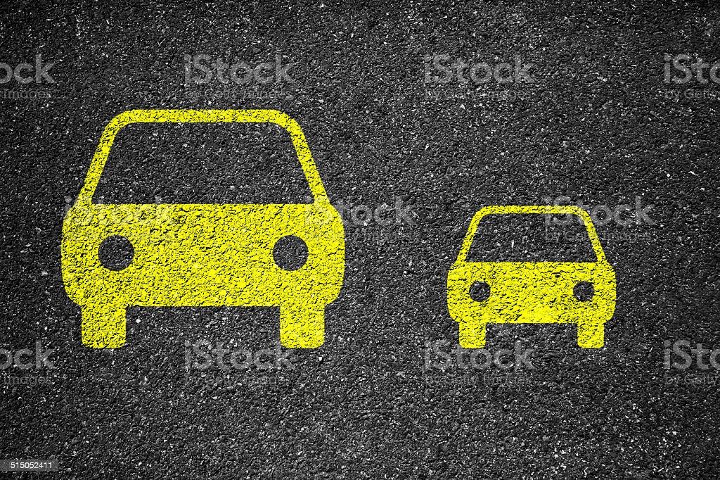 Car Compare stock photo