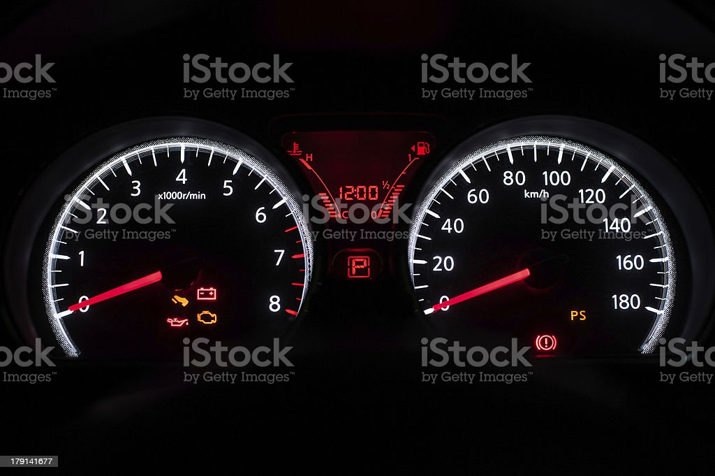 car console royalty-free stock photo