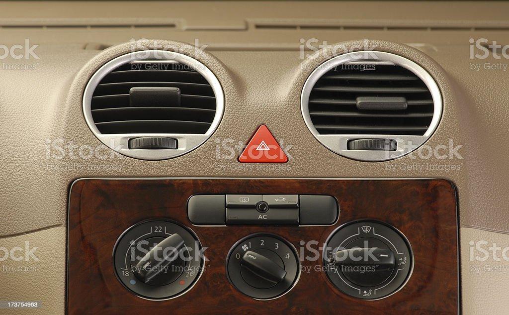 Car Controls royalty-free stock photo