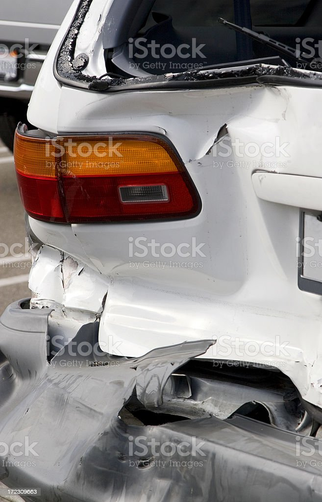 car crash royalty-free stock photo