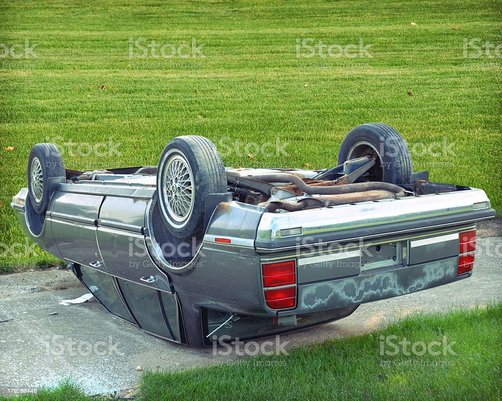 car crash stock photo