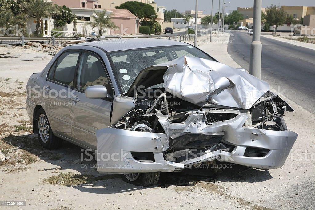 Car Crash VII royalty-free stock photo