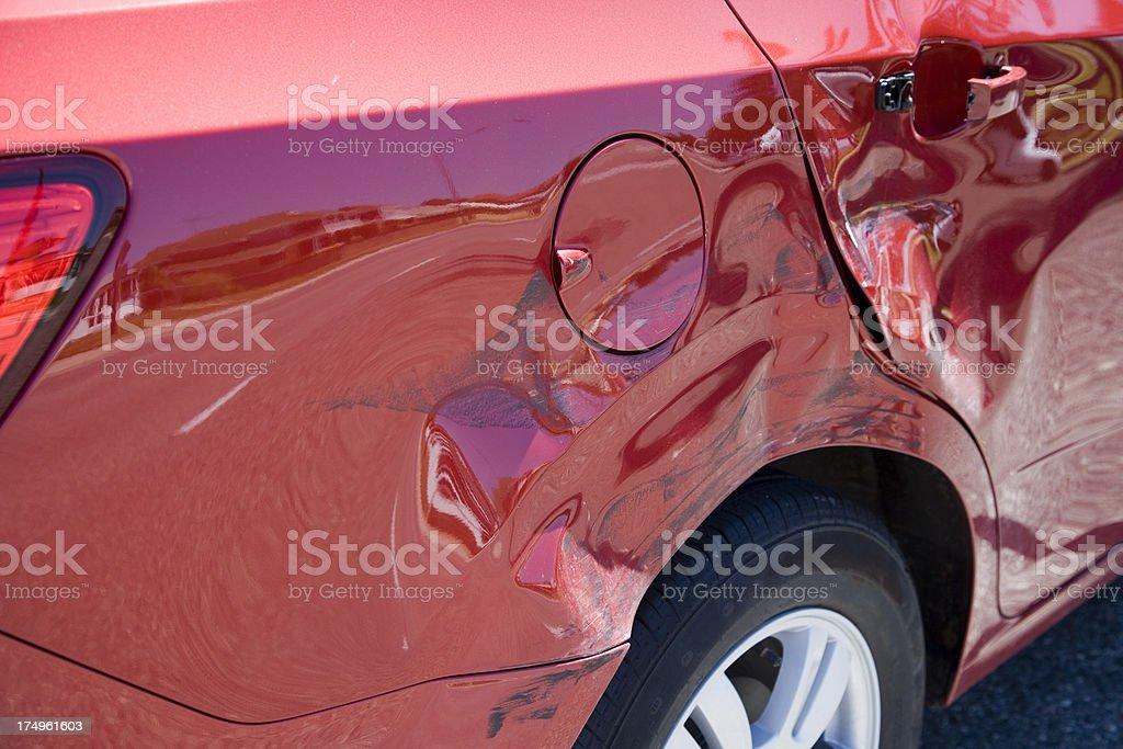 Car Damage stock photo