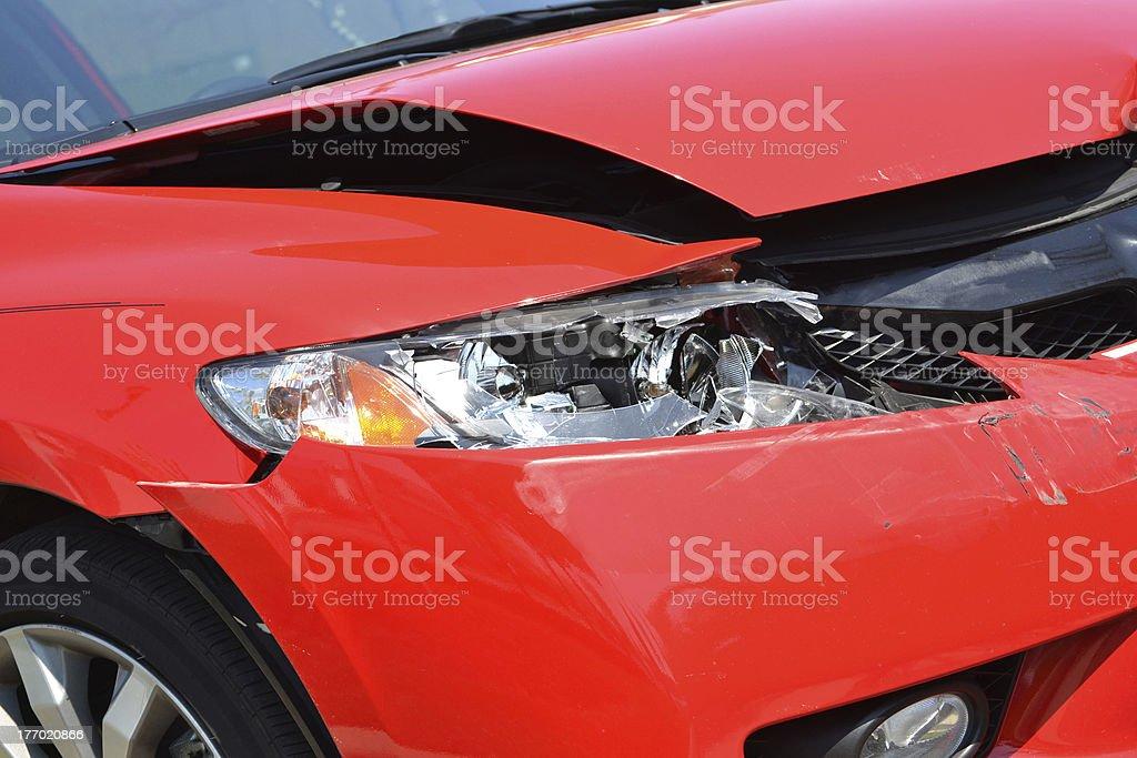 Car Damage royalty-free stock photo