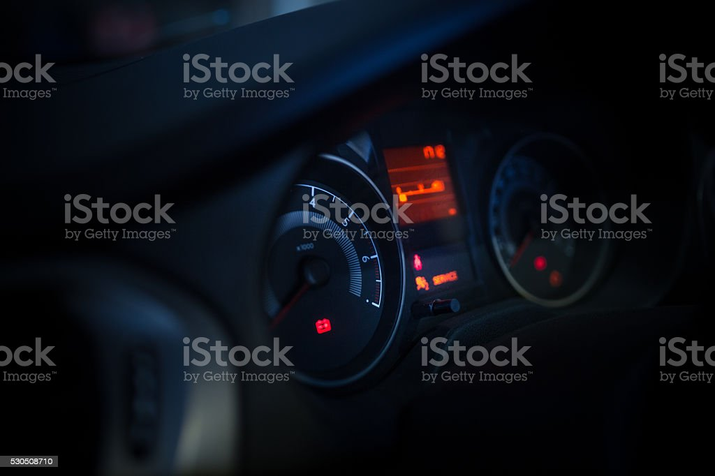 Car Dashboard Stock Photo IStock - Car sign on dashboard