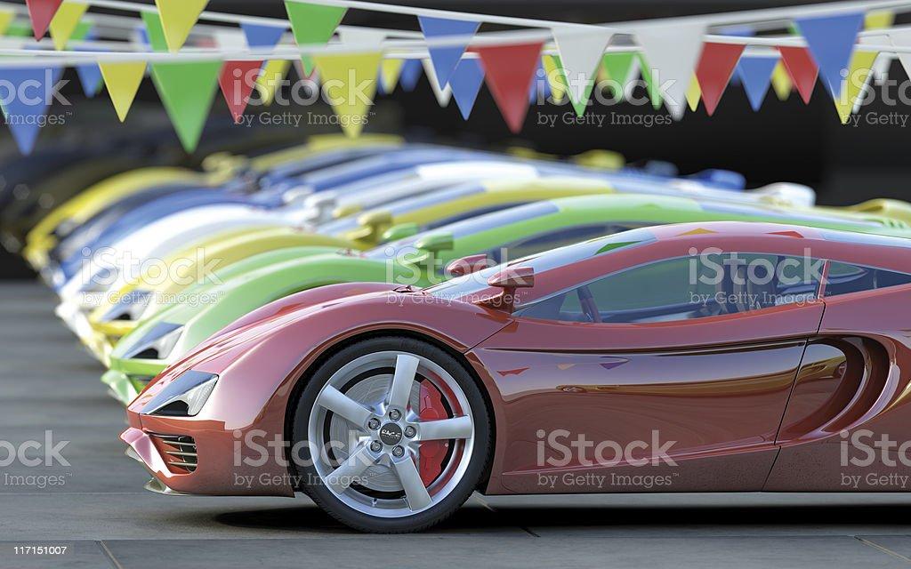 Car Dealership royalty-free stock photo