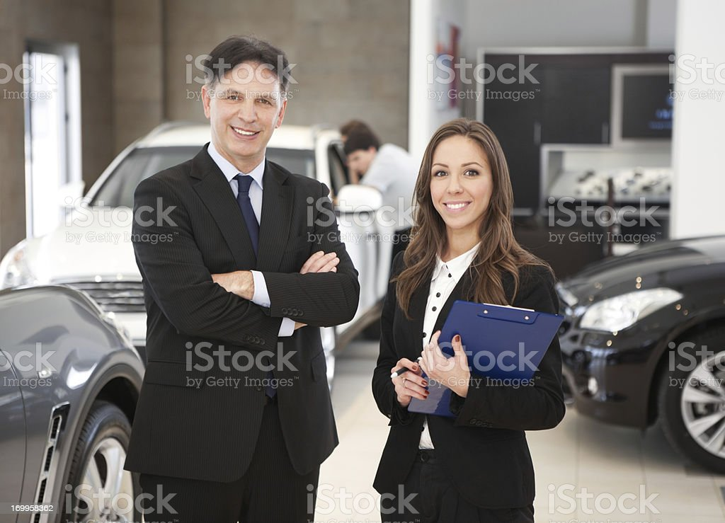 Car dealership. royalty-free stock photo