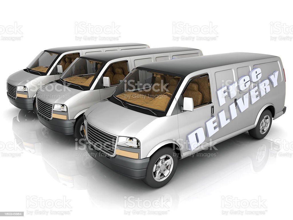 car delivery royalty-free stock photo