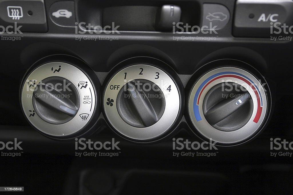 Car Dials royalty-free stock photo