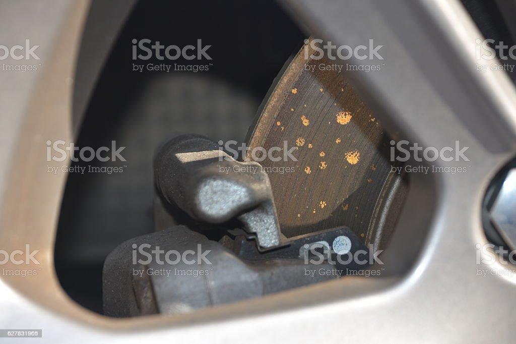Car Disc Brake stock photo