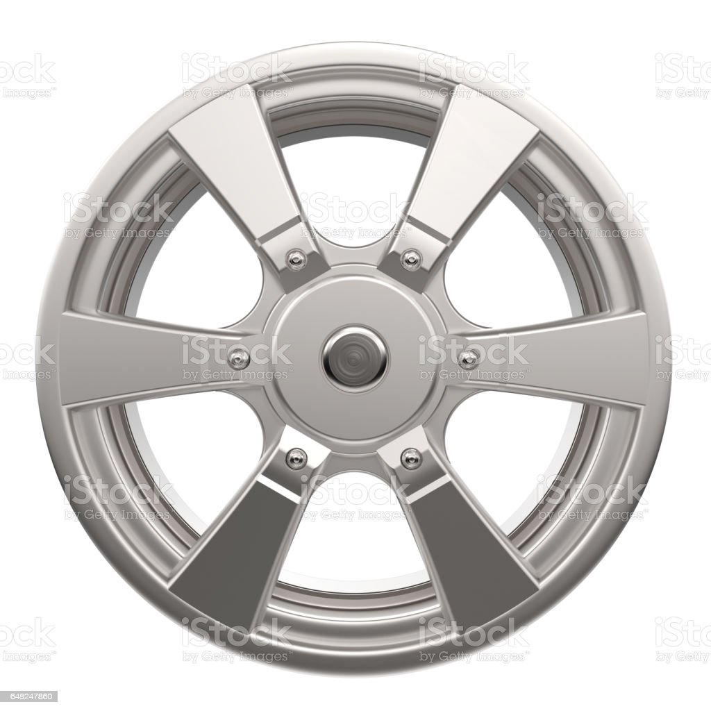 car disk isolated stock photo