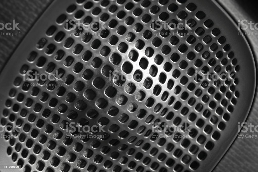 car door speaker royalty-free stock photo