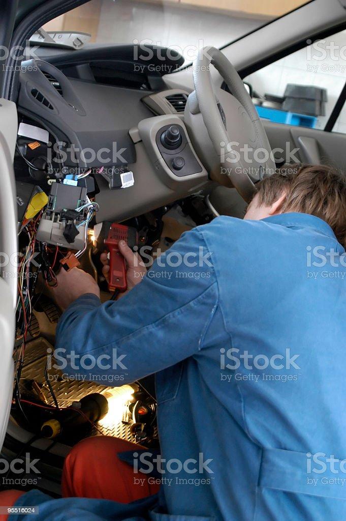Car electric stock photo