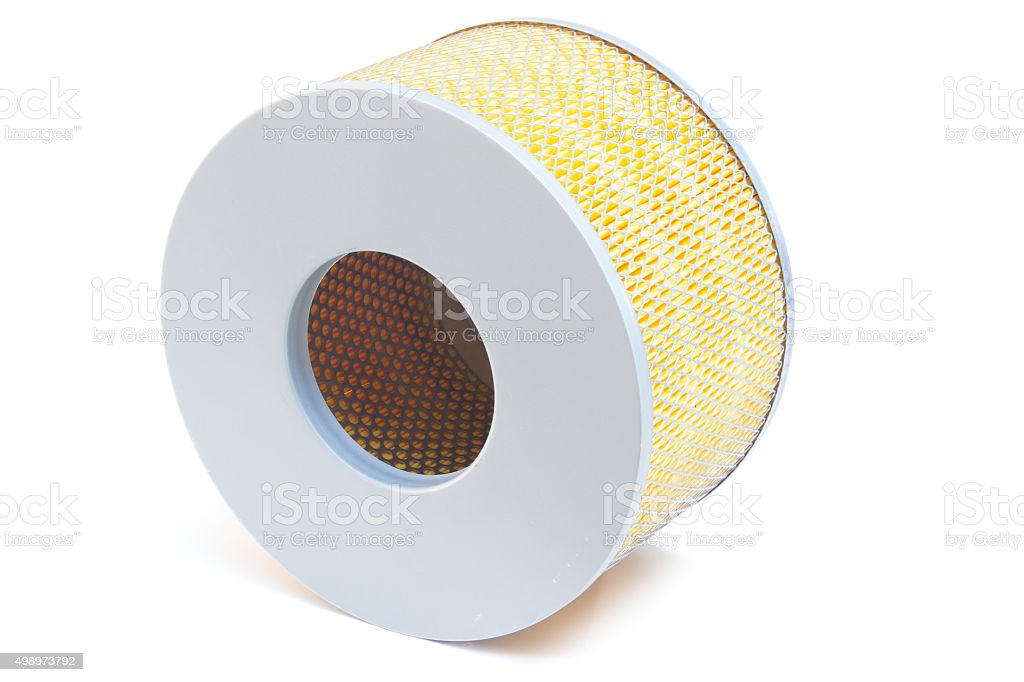 car engine air filters stock photo