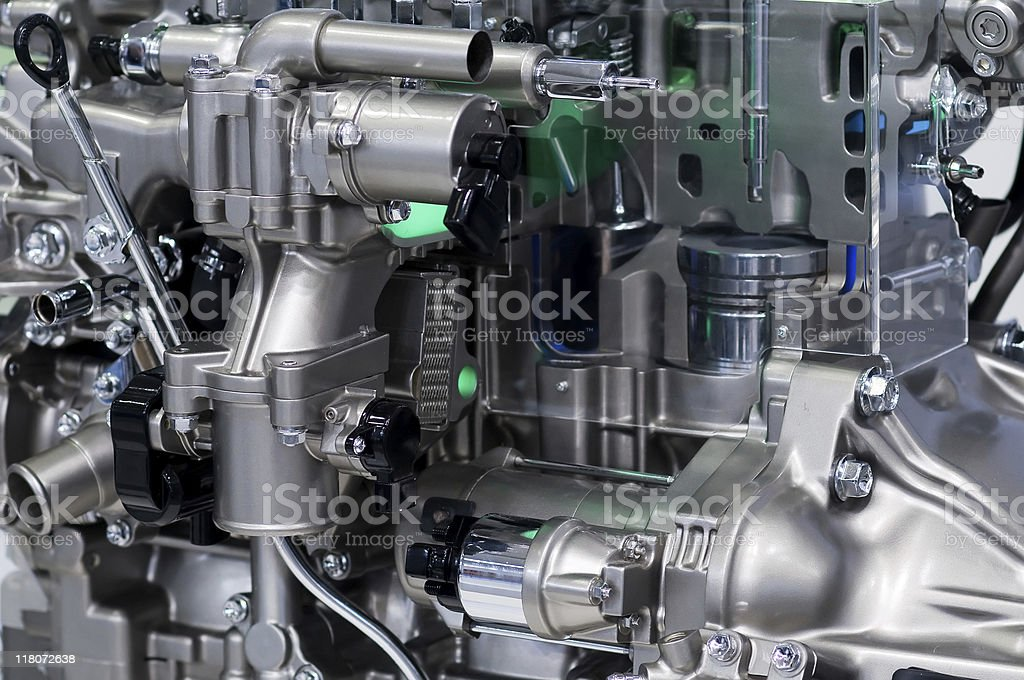 Car Engine detail royalty-free stock photo