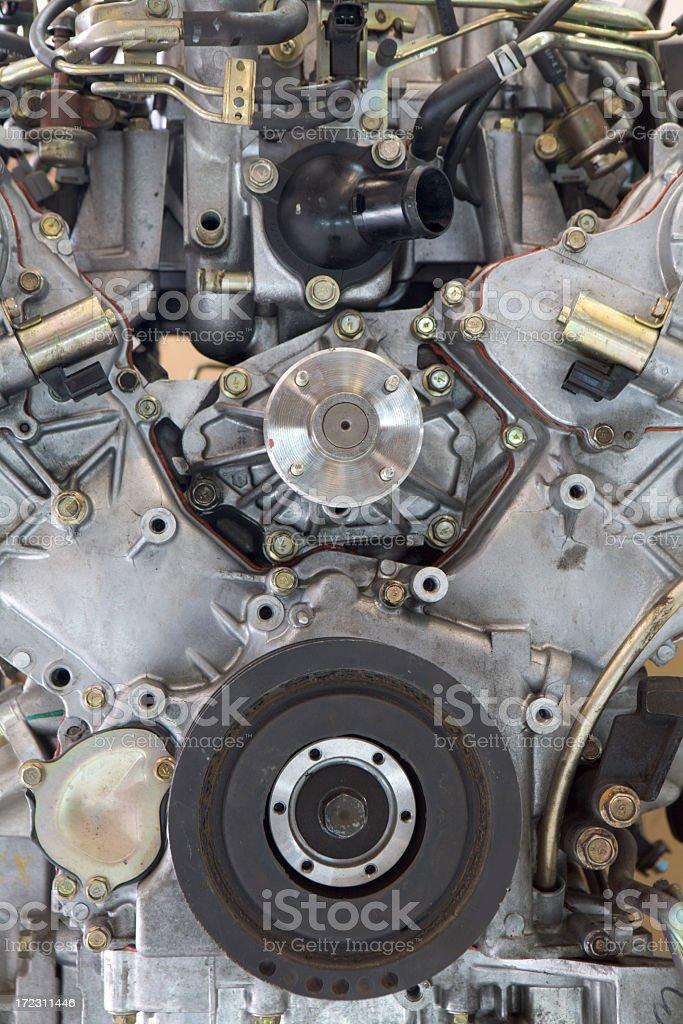 Car Engine Detail royalty-free stock photo