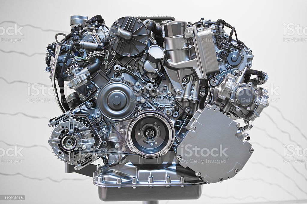 Car Engine stock photo