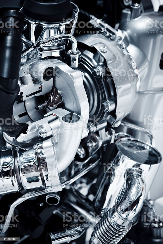 Car Engine royalty-free stock photo
