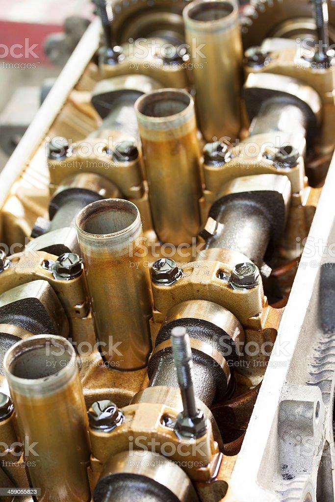 Car engine - Stock Image royalty-free stock photo