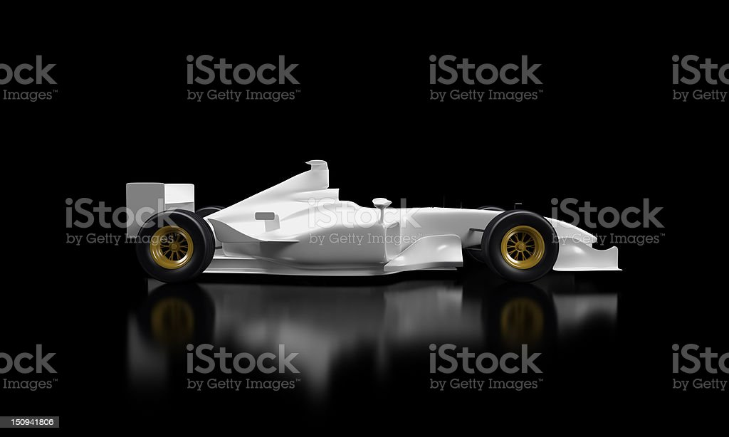 Car F1 royalty-free stock photo